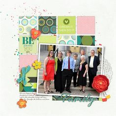 Family - Confirmation - My Scrapbook Art Gallery