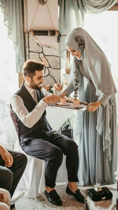 Nikah Explorer - No 1 Muslim matrimonial site for Single Muslim, a matrimonial site trusted by millions of Muslims worldwide. Muslimah Wedding Dress, Muslim Wedding Dresses, Muslim Brides, Wedding Hijab, Cute Muslim Couples, Muslim Girls, Muslim Women, Cute Couples, Wedding Couple Poses Photography