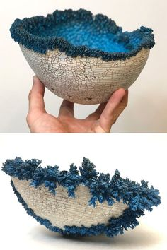 Sabri Ben-Achour of Sabritree Ceramics pairs his artistic skills with scientific knowledge to craft exquisite bowls inspired by nature. Ceramicist Sabri Ben-Achour blurs the line between art and science.