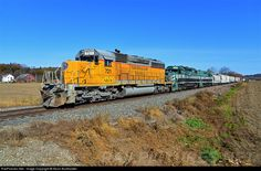 RailPictures.Net Photo: NECR 721 New England Central EMD SD40-2 at Westminster, Vermont by Kevin Burkholder