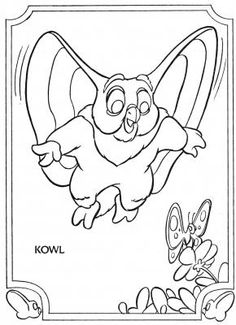 Who's Who Book Golden Coloring & Activity Books 1985 - Page 12 - Kowl