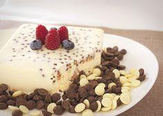 Semifreddo czekoladowe - włoski deser lodowy