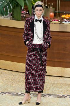 Chanel new ready-to-wear collection, Autumn/Winter 2015/2016 at Paris Fashion Week