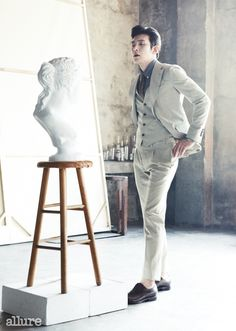 Ji Chang Wook - Allure Magazine May Issue '14
