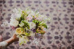 Buquê lindo criado especialmente pelo Studio Lily para a noiva Bárbara Ribeiro