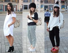 B Striped Pants, Fashion Addict, Journal, Style, Swag, Stripped Pants, Striped Shorts, Outfits, Stripe Pants