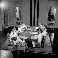 SAIGON ca 1953 - Nội các của Thủ tướng Nguyễn Văn Tâm thời Quốc trưởng Bảo Đại