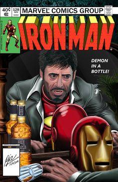Demon in a Bottle (ft. Robert Downey Jr.) by andepoul.deviantart.com on @DeviantArt