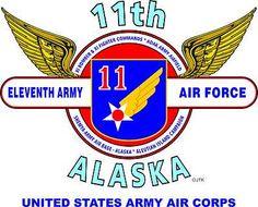 11th Army Air Force (WW II Alaska) United States Army Air Corps Shirt