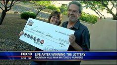 Fountain Hills man talks life after winning the lottery - FOX 10 ...