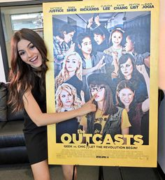 -Victoria JusticeVerified account @VictoriaJustice  21h21 hours ago  More   Getting ready for the premiere of @outcastsmovie tonight !! So excited to see this cast! In select theaters tomorrow! ❤️- Victoria Justice (@VictoriaJustice) | Twitter
