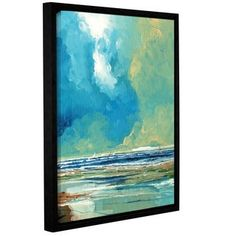 Shop for Stuart Roy's ' Sea View On Boards I' Gallery Wrapped Floater-framed Canvas. Get free delivery at Overstock.com - Your Online Art Gallery Store! Get 5% in rewards with Club O!