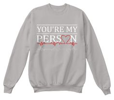 you are my person, you're my person, cristina yang, meredith grey, best friends, twisted sisters, greys anatomy, grey's anatomy, greys anatomy tshirt