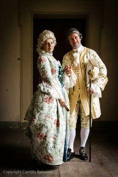 Associazione Italiana Maria Antonietta: Il racconto di una meravigliosa Giornata nel '700 a Villa Sorra