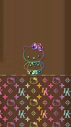 Hello kitty iphone wallpaper rainbow