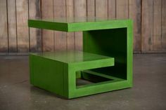Chow Bunching Coffee Table Made of Maple Solids and Ziricote Veneer in Jade. 21---21--19h