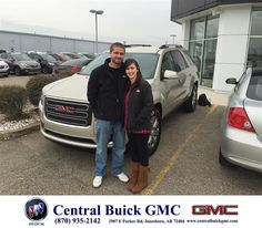https://flic.kr/p/CanvSU | Happy Anniversary to Melanie & Chase  on your #GMC #Acadia from Justin Duckert at Central Buick GMC! | deliverymaxx.com/DealerReviews.aspx?DealerCode=GHWO