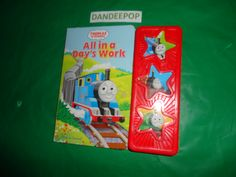 Thomas The Tank Engine Thomas & Friends All In A Days Work Play A Sound Musical Board Book find me at www.dandeepop.com