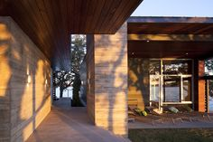 modern exterior architecture - modern - exterior - austin - Dick Clark Architecture Is that board form poured concrete?