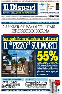 La copertina del 23 ottobre 2016 #ischia #ildispari