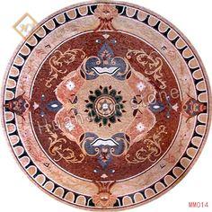 MM014 Marble Stone Mosaic Medallion