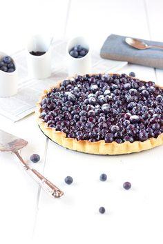Blackcurrant tart recipe
