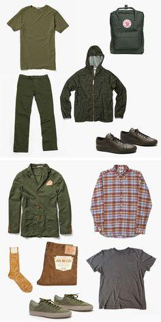 ArmyGreen / F R E E / M A N - Journal - Spring Kit N°04