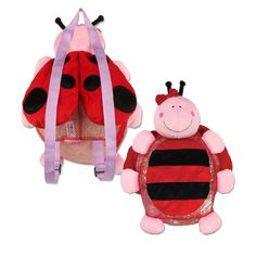 Your little one will love this not just cute but flexible bag. She can use in school, mall and events too! Baby Shop, Ladybug, Little Ones, Baby Items, Mall, Cute Babies, Events, School, Ladybugs