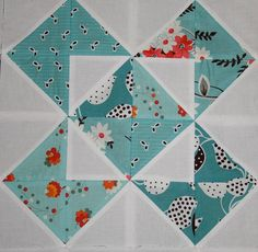 nice block half square triangles | Quilt Blocks | Pinterest