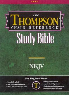 reference Bibles are the key
