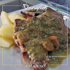 Para ti nuestro #Chef crea con pasión Lau Lau en salsa de mariscos #SencillamenteDelicioso en Puerto Ordaz #FelizSabado  #Gastronomía #gourmet #gastronomy #almuerzo #cena #lunch #dinner #fishfood #Guayana #PZO