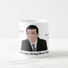 Like to be Liked. Coffee Mug - home gifts ideas decor special unique custom individual customized individualized
