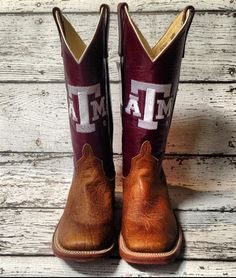"""Aggie"" Anderson Bean Boots from Mule Barn."