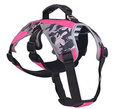 Escape Proof Outdoor Harness Reflective MultiUse Harness for Dogs Hiking Walking  Climbing Small -- Click image to review more details.