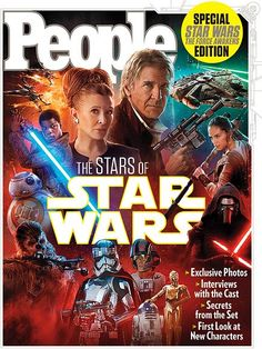 star wars 7 force awakens magazine cover Star Wars 7 Images Highlight Billie Lourds Character