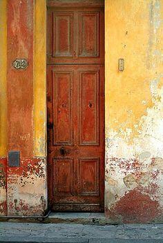Sarka-Trager Photography of San Francisco    Cuba, 702 Door