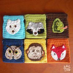 NATURE : i Portamonete degli Animali Uncinetto di JulaiPower