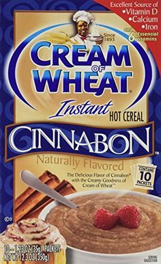 Cream of Wheat Cinnabon Flavored 10ct Box 123oz Pack of 3 >>> To view further for this item, visit the image link. (This is an affiliate link and I receive a commission for the sales)