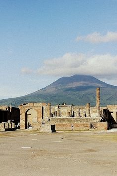 Pompeii - we were here on Fri 13 and on the date 50 years past when Vesuvius was supposed to erupt.