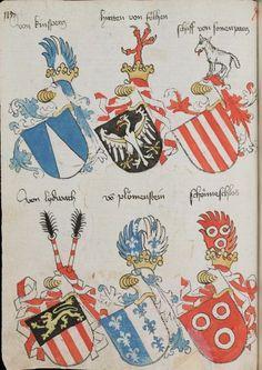 Wappenbuch des St. Galler Abtes Ulrich Rösch Heidelberg · 15. Jahrhundert Cod. Sang. 1084 Folio 115