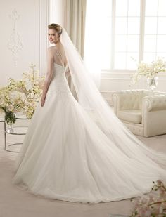 ARTIES | Wedding Dresses | Glamour 2013 Collection | San Patrick (back)