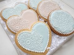 Lace sugar cookies