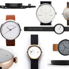 A Fine Time for Simplicity: 12 Minimalist Watches
