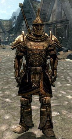 Skyrim-dwarvin armor