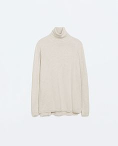 Image 5 of TURTLE NECK SWEATER from Zara