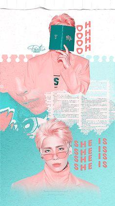 by shalroller on deviantart Graphic Design Layouts, Graphic Design Posters, Layout Design, Design Art, Cv Web, Desing Inspiration, Kpop Posters, Movie Posters, Kpop Fanart