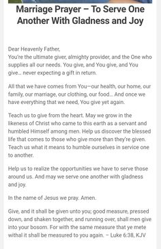 Prayer For My Marriage, Marriage Bible Verses, Godly Marriage, Marriage Goals, Prayer Scriptures, Bible Prayers, Catholic Prayers, Marriage Relationship, Happy Marriage