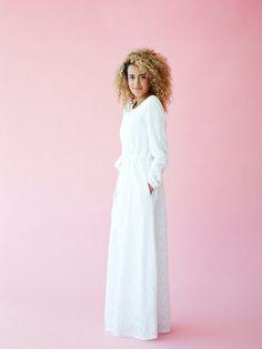 Stevie Q.NOOR LDS Temple Dress
