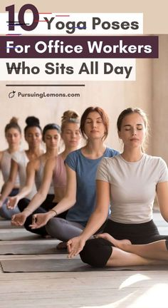 10 yoga poses for office workers who sit all day - # office workers . - 10 yoga poses for office workers who sit all day worker - Pilates Workout, Pilates Reformer, Workouts, Yoga Poses For Back, Yoga For Back Pain, Cool Yoga Poses, Sitting Yoga Poses, Lower Back Pain Causes, Yoga Flow