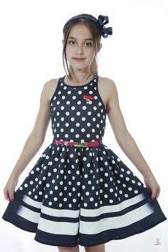 Vestido Infantil Diforini Moda Infanto Juvenil 010780